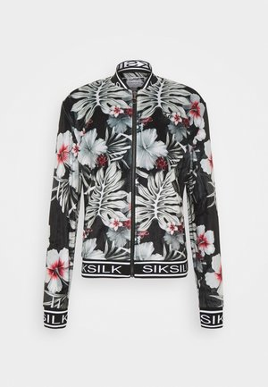 FLORAL JACKET - Giubbotto Bomber - black