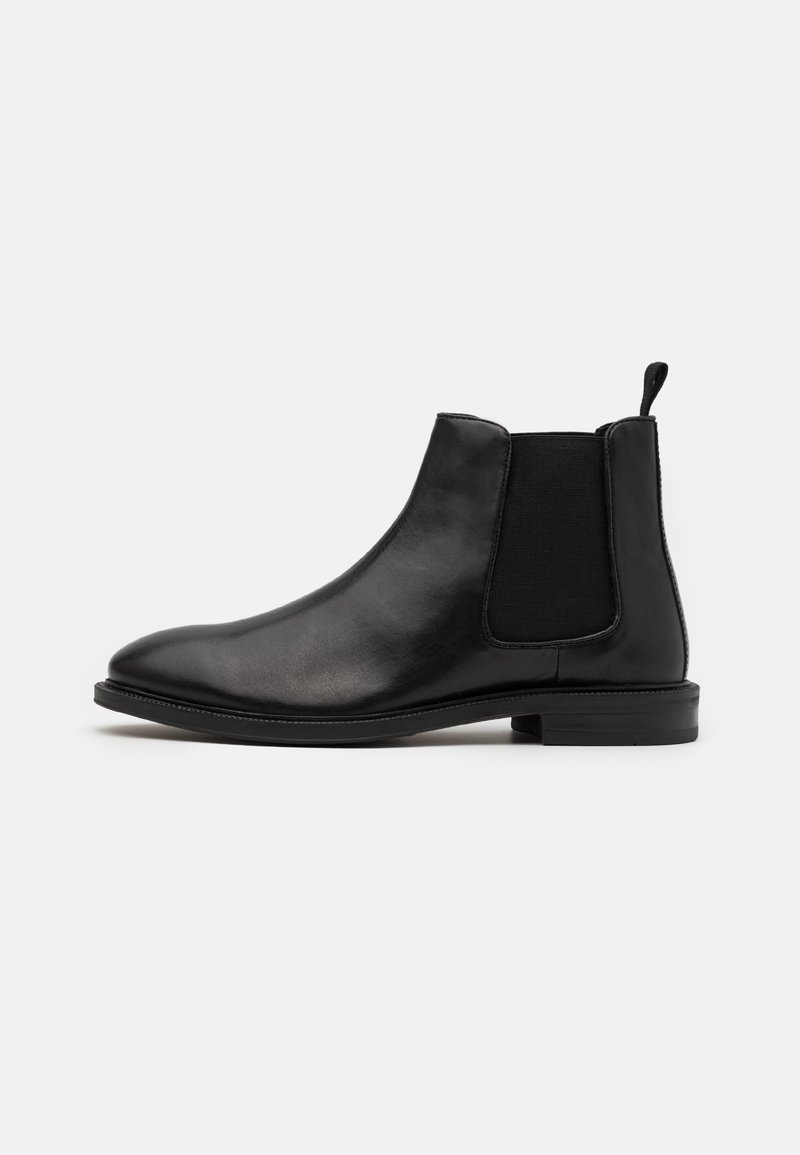Zign - LEATHER - Classic ankle boots - black