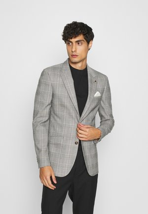 HIGHLIGHT CHECK - Blazer jacket - grey