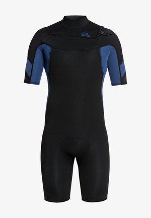 MIT REISSV - Wetsuit - black black/iodine blue iodine