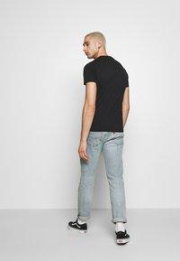 Superdry - NEON LITE TEE - T-shirt basic - black - 2