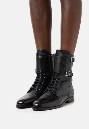 SUSAN 90 - Lace-up ankle boots - black