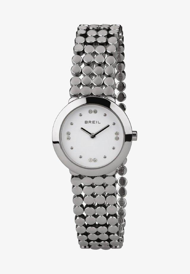 Watch - steel/white