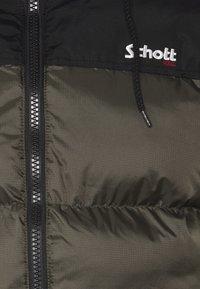 Schott - UTAH UNISEX - Winter jacket - khaki - 3