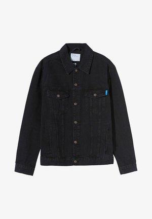 UNISEX - Denim jacket - black