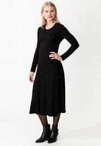 Indiska - ARA - Jumper dress - black - 1
