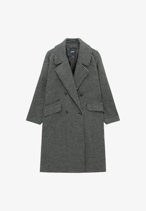 MIT HAHNENTRITTMUSTER  - Classic coat - grey