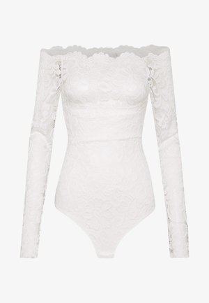 OFF SHOULDER BODY - Bluse - off white