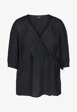 Blus - black solid