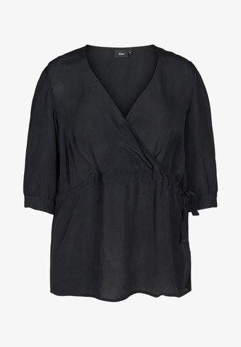 Blouse - black solid