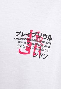 Brave Soul - FIRE - T-shirt imprimé - white - 6