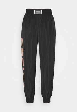 LONG PANT - Tracksuit bottoms - jet black