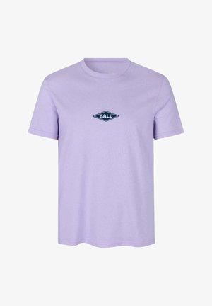 T-shirts med print - lavender