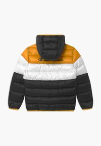 Champion - COLOR BLOCK UNISEX - Winter jacket - black/white/yellow - 1