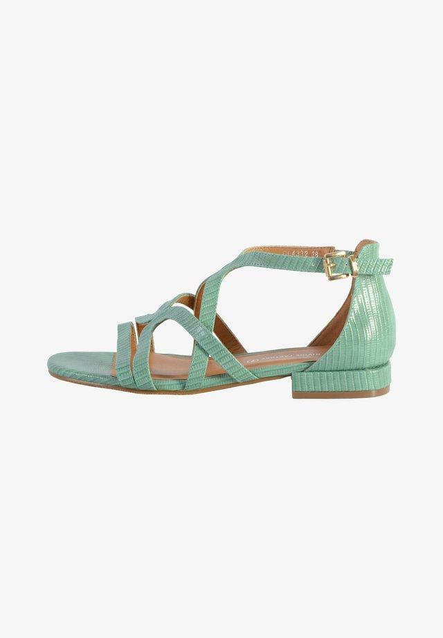 Sandales - vert d'eau