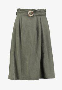 mint&berry - Áčková sukně - khaki - 4