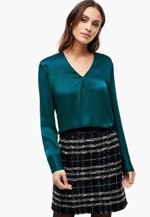 Long sleeved top - poseidon blue