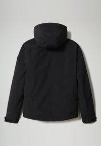 Napapijri - SHELTER HOOD - Light jacket - black - 9