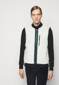 PS Paul Smith - REVERSIBLEGILET - Waistcoat - black - 0