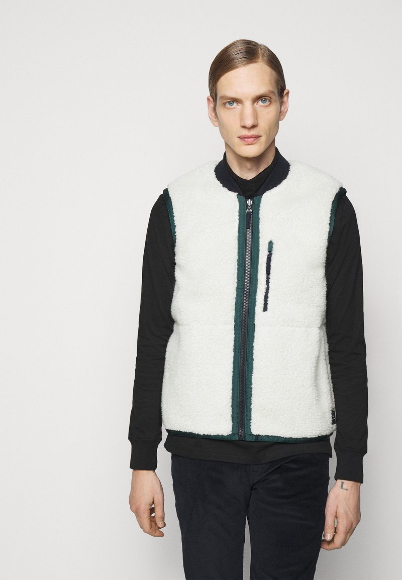 PS Paul Smith - REVERSIBLEGILET - Waistcoat - black