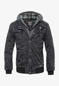 Brandit - DAYTON  - Denim jacket - black - 6