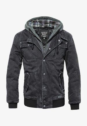 DAYTON  - Denim jacket - black