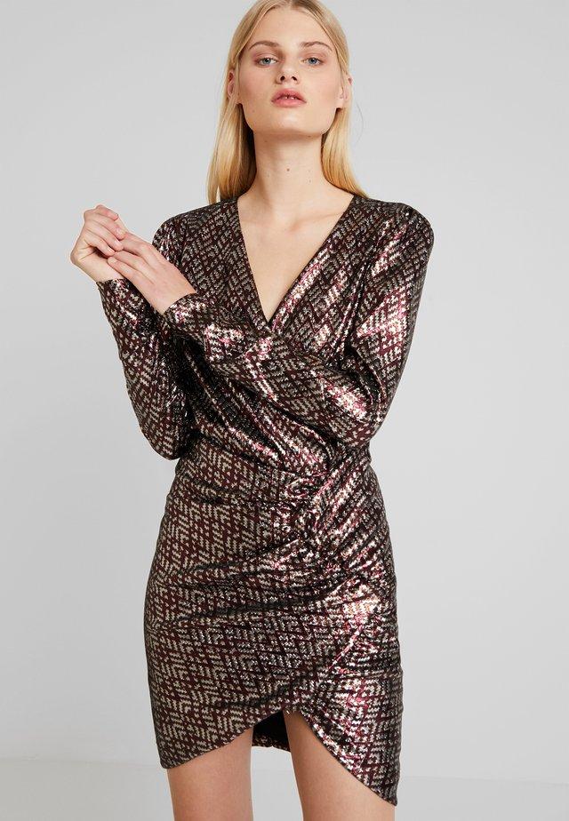 MAY DRESS - Sukienka koktajlowa - silver