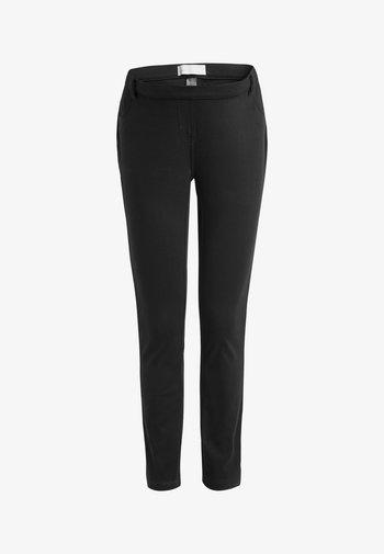 MATERNITY JERSEY DENIM - Leggings - Trousers - black
