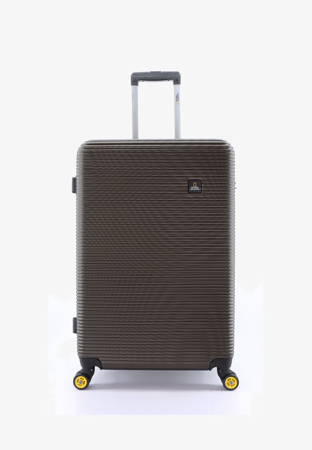 ABROAD - Wheeled suitcase - khaki