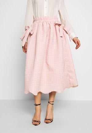 ROSY RAY MIDI SKIRT - A-line skirt - pink