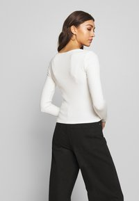 Gina Tricot - PENNY  - Topper langermet - off white - 2