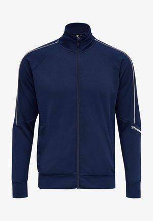 Sweatjakke /Træningstrøjer - medieval blue