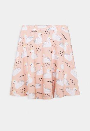 SKIRT SWANS - A-line skirt - pink