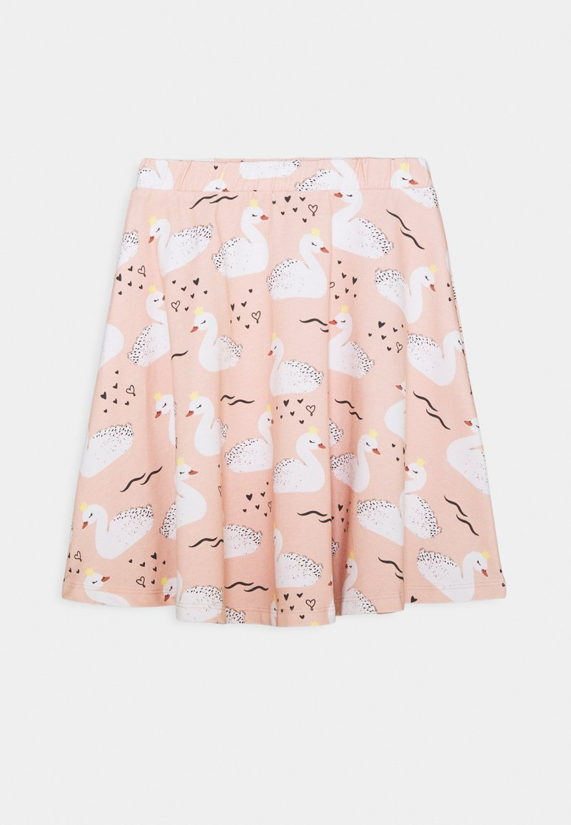Walkiddy - SKIRT SWANS - A-line skirt - pink