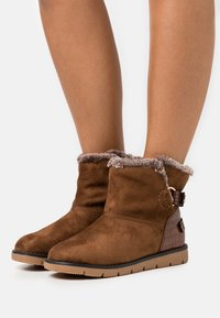 TOM TAILOR - Classic ankle boots - brown - 0
