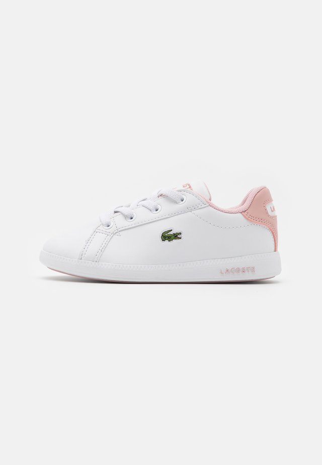 GRADUATE - Sneaker low - white/light pink
