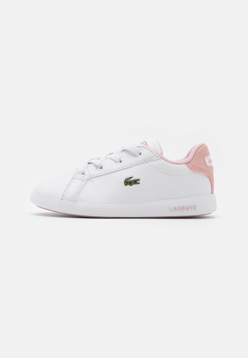 Lacoste - GRADUATE - Trainers - white/light pink