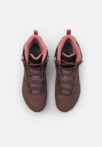 Salomon - OUTWARD GTX - Hiking shoes - peppercorn/black/brick dust - 3