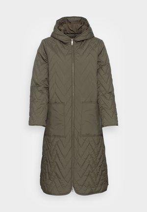 SLFNORA QUILTED COAT - Classic coat - kalamata