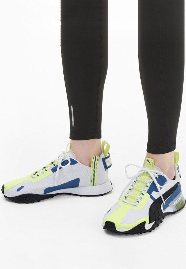 KVINNA - Sneaker low - white-black-fizzy yellow