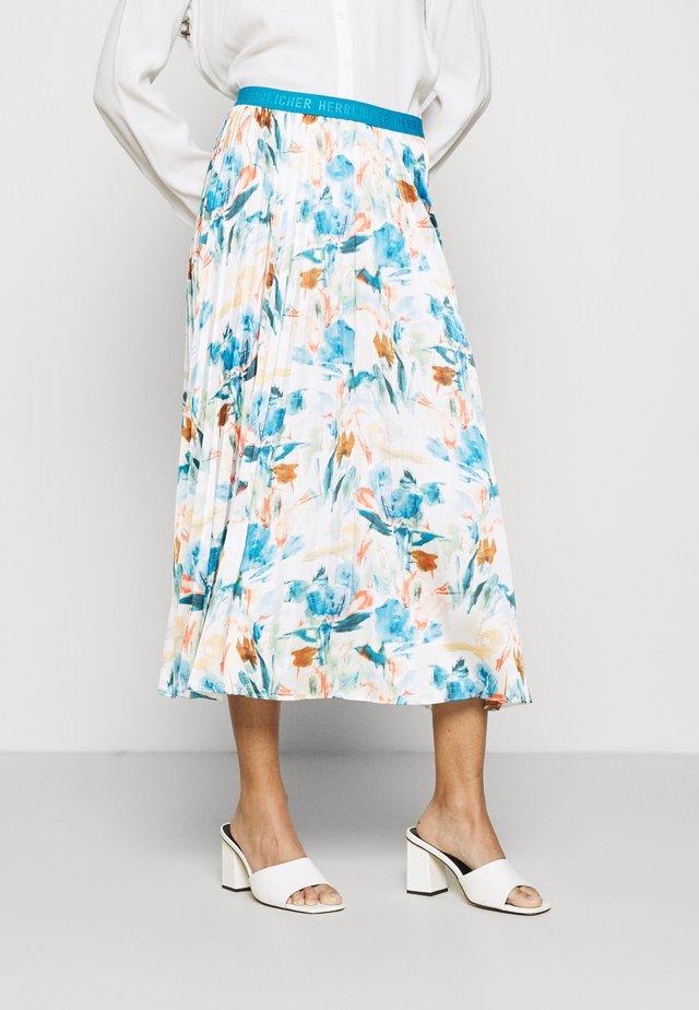 ANIA SKIRT PRINT - Plisovaná sukně - multicolor