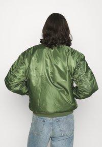 Vintage Supply - PUFFER JACKET - Bomber Jacket - khaki - 2
