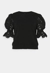 Vero Moda Curve - VMTULIP O-NECK CURVE - Print T-shirt - black - 3