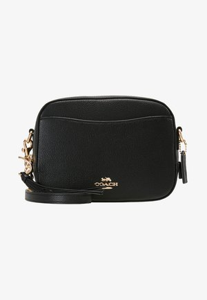 CAMERA BAG - Taška spříčným popruhem - black