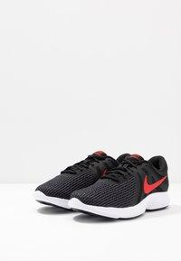 Nike Performance - REVOLUTION - Løbesko trail - black/university red/oil grey/white - 2