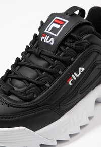 Fila - DISRUPTOR KIDS - Zapatillas - black