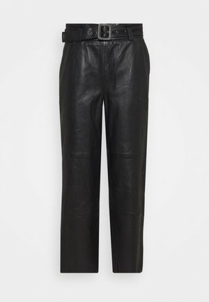 STORIA PANTS - Trousers - black