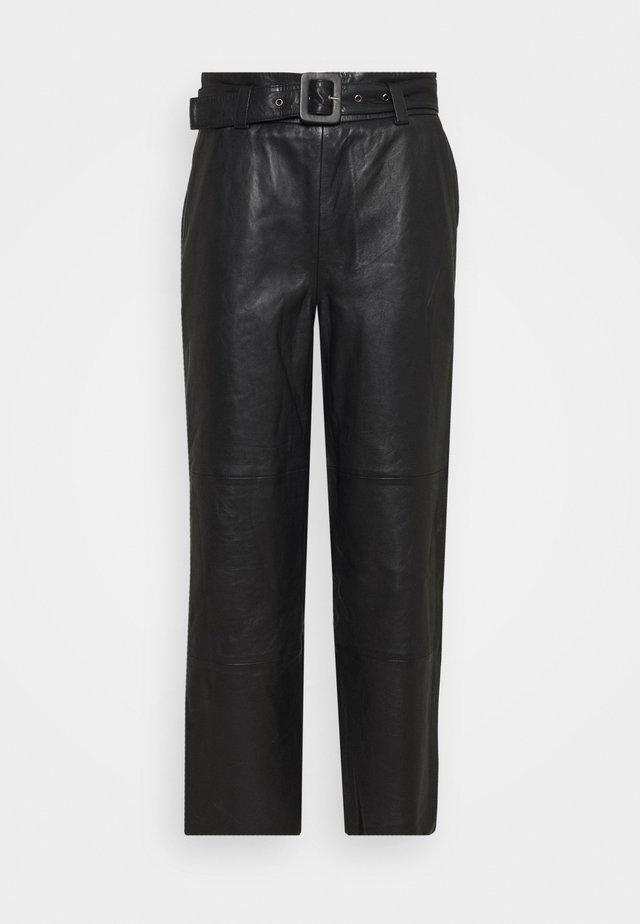 STORIA PANTS - Pantaloni - black
