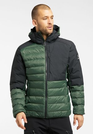 DALA MIMIC HOOD MEN - Vinterjacka - fjell green/true black