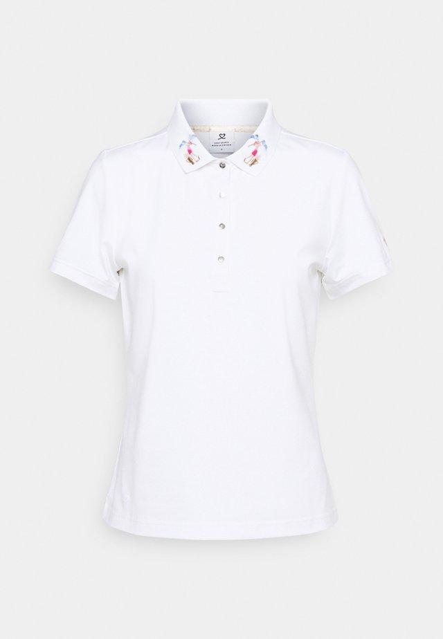 SELMA - Polo shirt - white